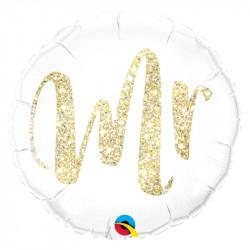 """(A) BALL.MYLAR 18"""" MISTER..."""