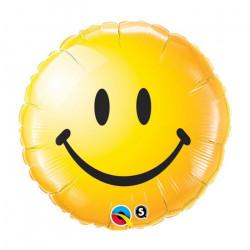 "(A) BALL.MYLAR 18"" SMILEY..."