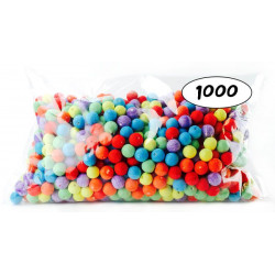 1000 BOULES MULTICOLORES CEE