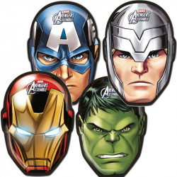 6 MASQUES MIGHTY AVENGERS