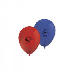 8 BALLONS IMP.SPIDERMAN...