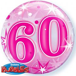"(C) BALL.BUBBLE 22"" 60 ROSE..."