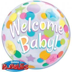 """(C) BALL.BUBBLE 22"""" WELCOME..."""