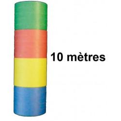 20 SERPENTINS 10M 4 COULEURS