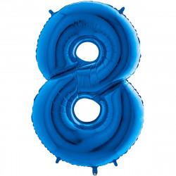 """(C) BALLON 26"""" (66cm) 8 BLEU"""