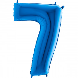 """(C) BALLON 26"""" (66cm) 7 BLEU"""