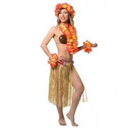 SET HAWAI ORANGE/JAUNE 4...