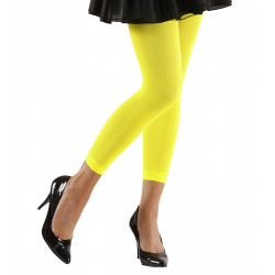 LEGGINGS NEONS JAUNE M/L