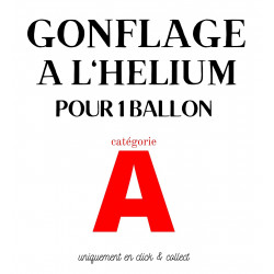 """GONFLAGE (A) HELIUM ALU 18""""..."""