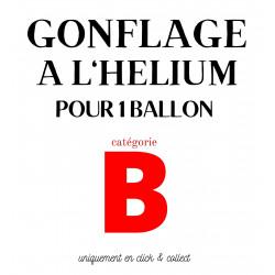 GONFLAGE (B) HELIUM LATEX...