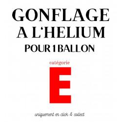 GONFLAGE (E) HELIUM ALU XXL