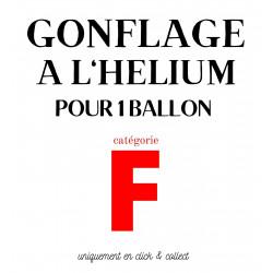 GONFLAGE (F) HELIUM LATEX...