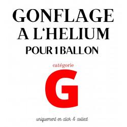 GONFLAGE (G) HELIUM LATEX...