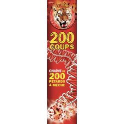 (F3) TIGRE 200 COUPS