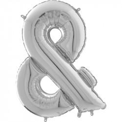 """(C) BALLON 26"""" (66cm) & ARGENT"""
