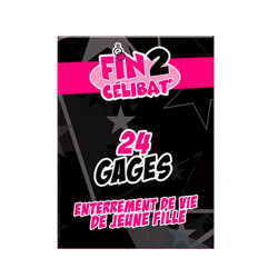JEU DE CARTES 24 GAGES FILLE