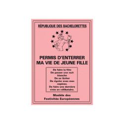 PERMIS ENTERR.VIE FILLE