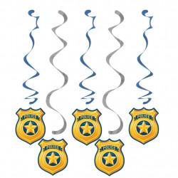 5 DECOS A SUSPENDRE POLICE