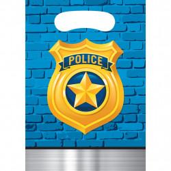 8 SACS 16.5x22.8cm POLICE