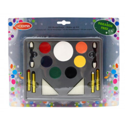 KIT MAQUILLAGE 7 FARDS GRAS...