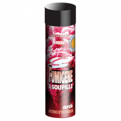(T1) FUMIGENE ROUGE 1mn A...