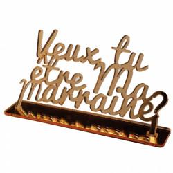 VEUX-TU ETRE MA MARRAINE...