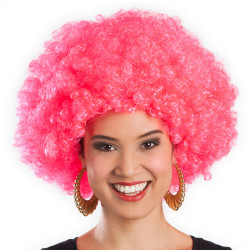 PERRUQ.AFRO EXTRA ROSE