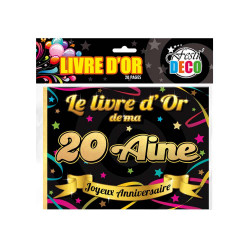 LIVRE D'OR 20AINE