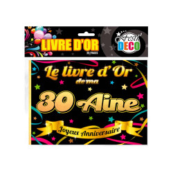 LIVRE D'OR 30AINE